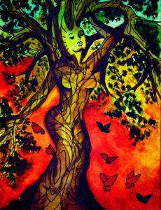 """Betsy Jenifer, """"Lady Nature"""" (Spring 2017 Edition)"""
